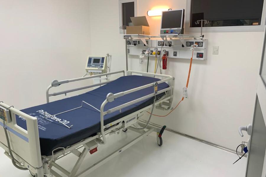 nuevas camas de terapia intensiva